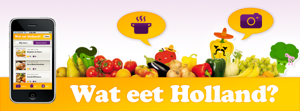 Wat eet Holland, mobile, app, iizt, 2x2
