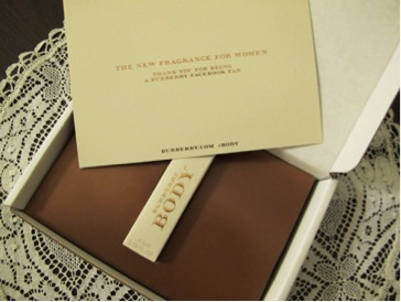 Burberry Facebook Gift