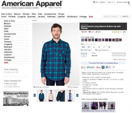 American Apparel Men