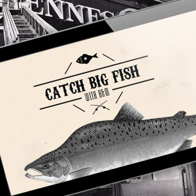 Catch big fish with h m iizt strategy creative technology for Catching the big fish