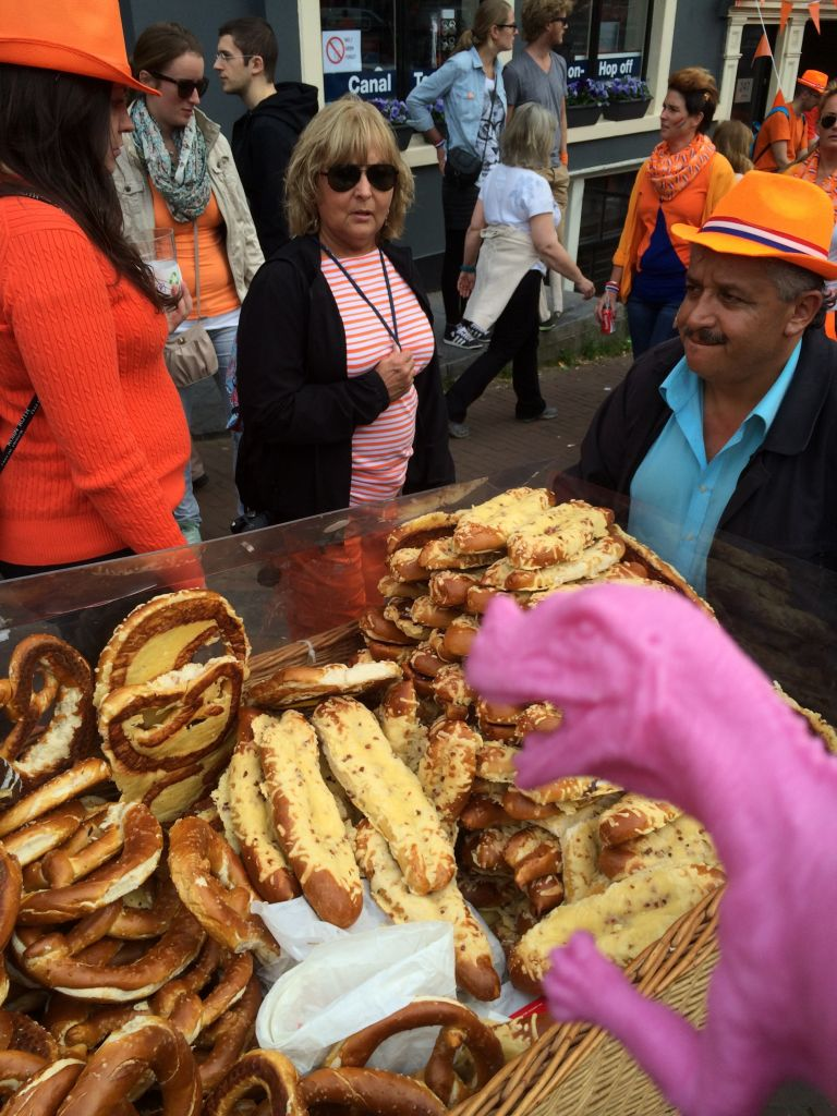 Dino Sauer visits the first King's Day 2014 1
