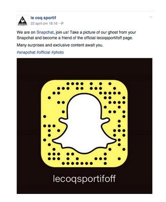 Snapchat marketing tool