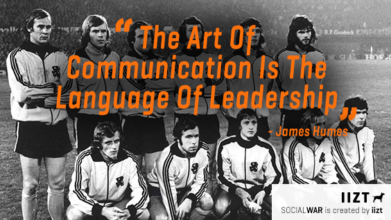 communication and leaders